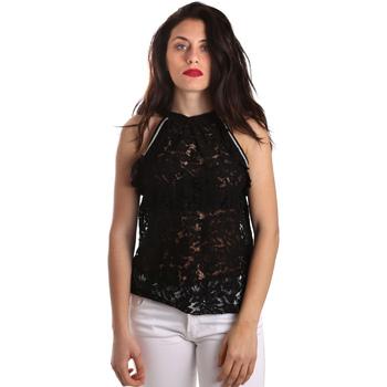 Textil Mulher Tops / Blusas Gaudi 911BD45026 Preto