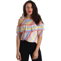 Textil Mulher Tops / Blusas Fracomina FR19SP556 Branco