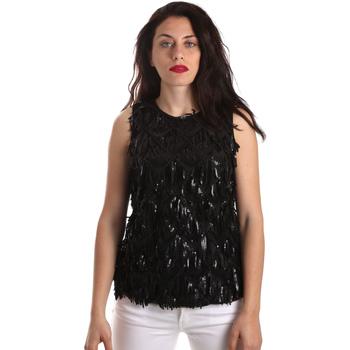 Textil Mulher Tops / Blusas Fracomina FR19SP533 Preto