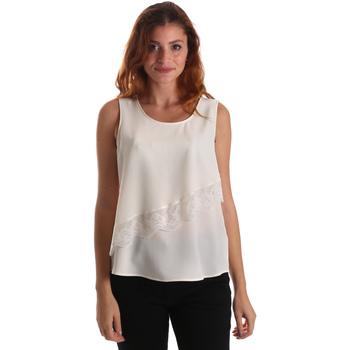 Textil Mulher Tops / Blusas Liu Jo W69236 T8552 Branco
