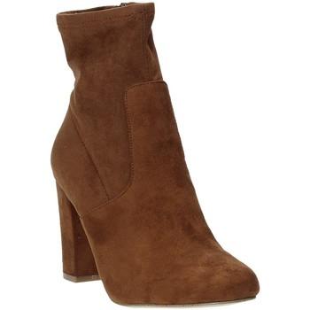 Sapatos Mulher Botins Steve Madden SMSPATTIE-SBRWN Castanho