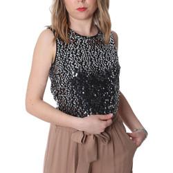 Textil Mulher Tops / Blusas Fracomina FR20SP634 Preto