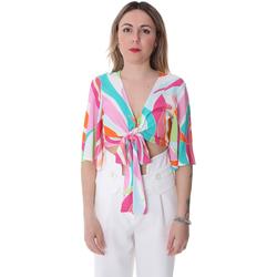 Textil Mulher Tops / Blusas Fracomina FR20SP519 Branco