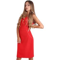 Textil Mulher Vestidos curtos Fracomina FR20SP645 Vermelho