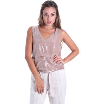 Textil Mulher Tops / Blusas Fracomina FR20SMARISA Bege