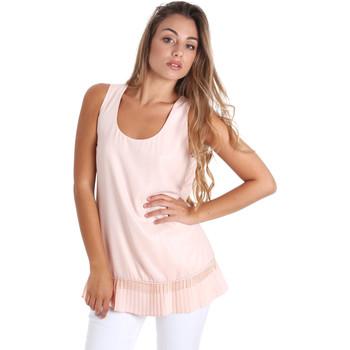 Textil Mulher Tops / Blusas Fracomina FR20SM014 Rosa