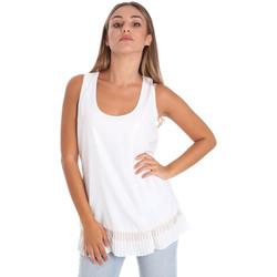 Textil Mulher Tops / Blusas Fracomina FR20SM014 Branco