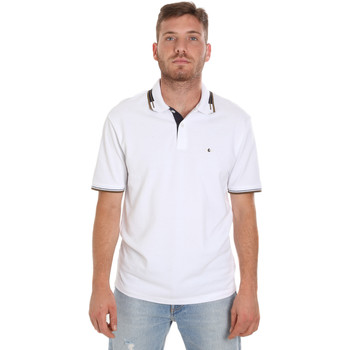 Textil Homem Polos mangas curta Les Copains 9U9021 Branco