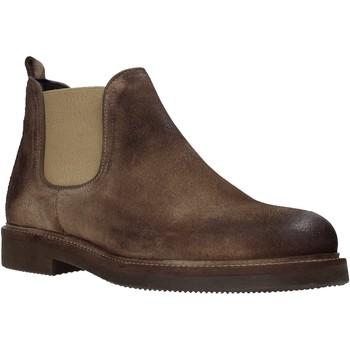 Sapatos Homem Botas baixas Exton 850 Castanho