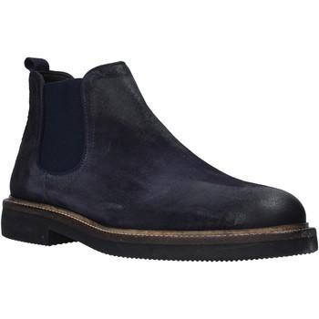 Sapatos Homem Botas baixas Exton 850 Azul