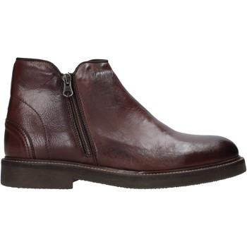 Sapatos Homem Botas baixas Exton 851 Castanho