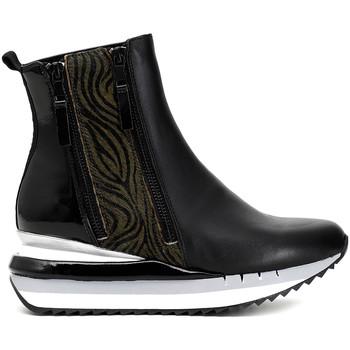 Sapatos Mulher Botas baixas Café Noir DN124 Preto