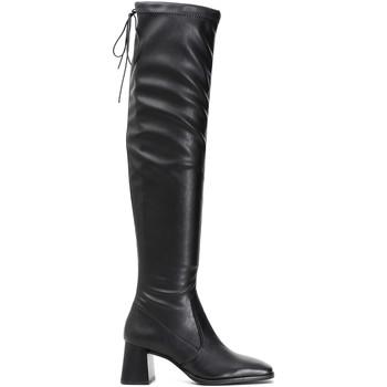 Sapatos Mulher Botas altas Café Noir LD914 Preto