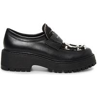 Sapatos Mulher Mocassins Steve Madden SMSMALVERNC-BLKWHT Preto
