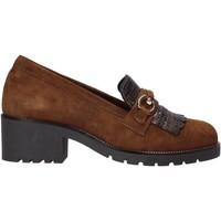 Sapatos Mulher Mocassins Grunland SC2967 Castanho