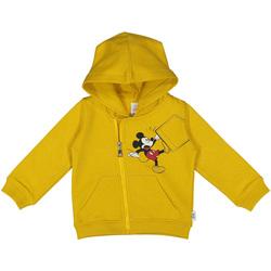 Textil Criança Sweats Melby 20D2030DN Amarelo