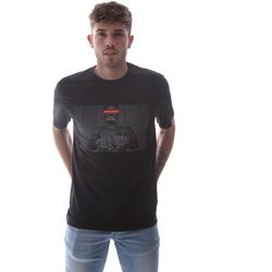 Textil Homem T-Shirt mangas curtas Sprayground 21SFW004 Preto