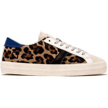Sapatos Mulher Sapatilhas Date W331-HL-PN-LA Verde