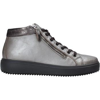 Sapatos Mulher Sapatilhas de cano-alto IgI&CO 6162122 Cinzento