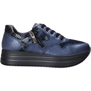Sapatos Mulher Sapatilhas IgI&CO 6166211 Azul