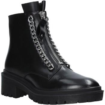 Sapatos Mulher Botas baixas Apepazza F0COMBAT10/LEA Preto