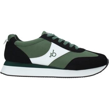 Sapatos Homem Sapatilhas Rocco Barocco RB-AS2006 Verde