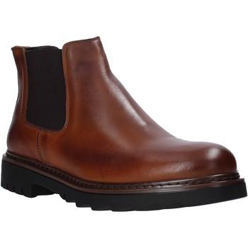 Sapatos Homem Botas baixas Exton 711 Castanho