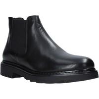 Sapatos Homem Botas baixas Exton 711 Preto
