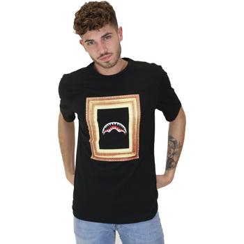 Textil Homem T-Shirt mangas curtas Sprayground 21SFW005 Preto