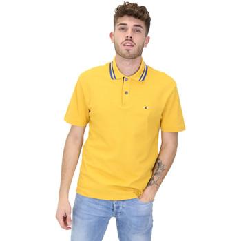Textil Homem Polos mangas curta Les Copains 9U9022 Amarelo