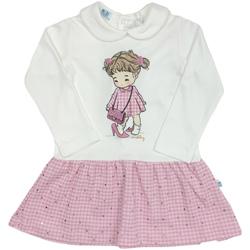 Textil Rapariga Vestidos curtos Melby 20A0011 Branco