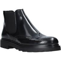 Sapatos Homem Botas baixas Exton 607 Preto