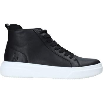 Sapatos Homem Sapatilhas de cano-alto Rocco Barocco RB-HOWIE-1401 Preto