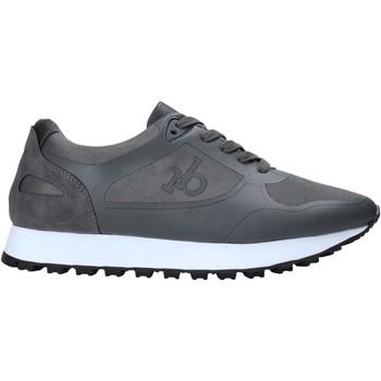 Sapatos Homem Sapatilhas Rocco Barocco RB-HUGO-1601 Cinzento