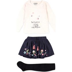 Textil Criança Conjunto Losan 026-8016AL Bege