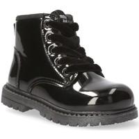 Sapatos Rapariga Botins Mustang Kids 54218 preto