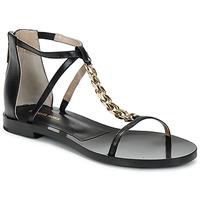 Sapatos Mulher Sandálias Michael Kors ECO LUX Preto