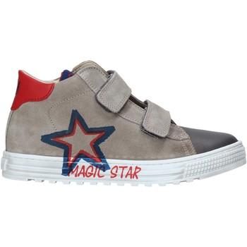 Sapatos Criança Sapatilhas de cano-alto Naturino 2015394 01 Cinzento