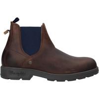 Sapatos Homem Botas baixas Wrangler WM02050A Castanho