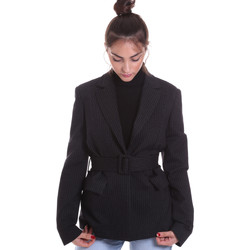 Textil Mulher Casacos/Blazers Fracomina F120W07022W040D4 Preto