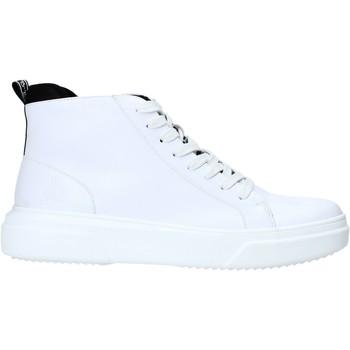 Sapatos Homem Sapatilhas de cano-alto Rocco Barocco RB-HOWIE-1401 Branco