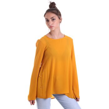 Textil Mulher Tops / Blusas Fracomina F120W19008W00401 Amarelo