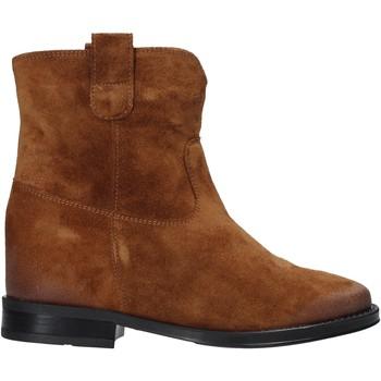 Sapatos Mulher Botas baixas Pregunta MAA3307 Castanho