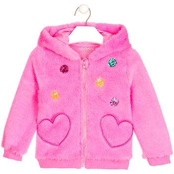 Textil Rapariga Casacos de malha Losan 026-0000AL Rosa