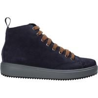 Sapatos Mulher Sapatilhas de cano-alto IgI&CO 6162233 Azul
