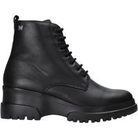 Sapatos Mulher Botas baixas CallagHan 27200 Preto