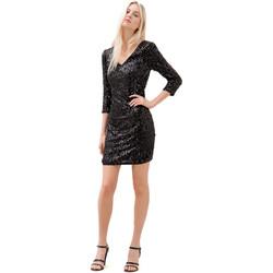 Textil Mulher Vestidos curtos Fracomina F120W14034W01985 Preto
