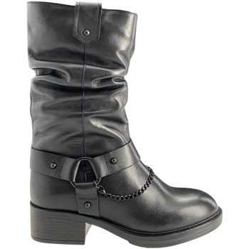 Sapatos Mulher Botas Apepazza F0BEATRIX01/LEA Preto