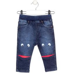 Textil Criança Calças de ganga slim Losan 027-6010AL Azul