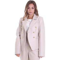 Textil Mulher Casacos/Blazers Fracomina F120W07023E00701 Bege